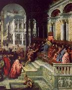 Paris Bordone Presentation of the Ring to the Doges of Venice oil painting artist